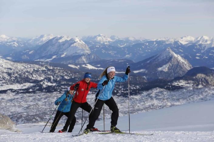 Dachstein panoramic trail at 2700m