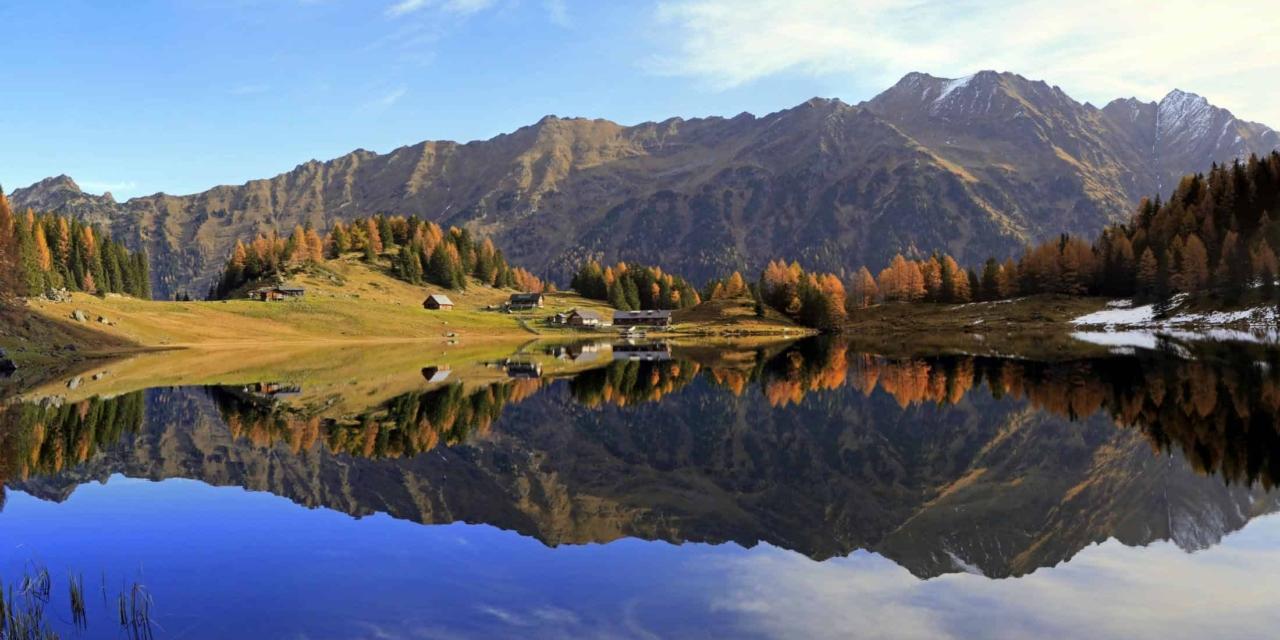 golden autumn at the Duisitzkarsee