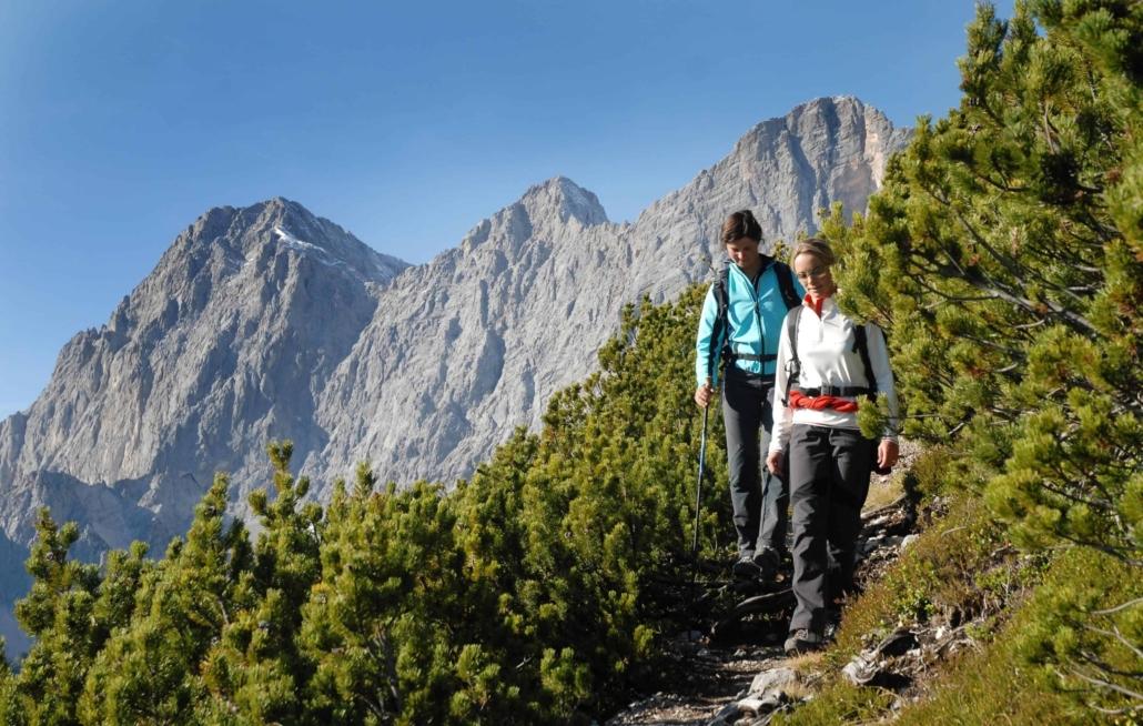 Geführte Wanderungen zu ausgewählten Gipfeltouren