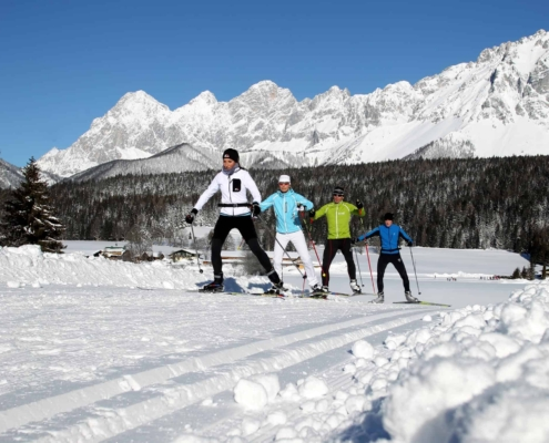 220km classic and skating trails in Ramsau am Dachstein