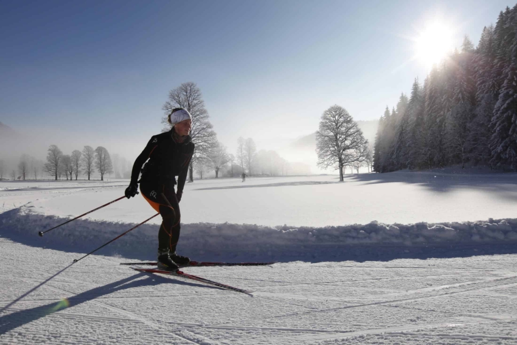 Cross-country skiing holiday in Hotel Matschner