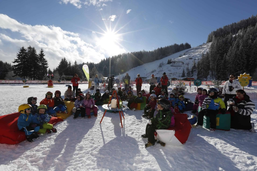Skifahren lernen im Bambiniland Rittisberg