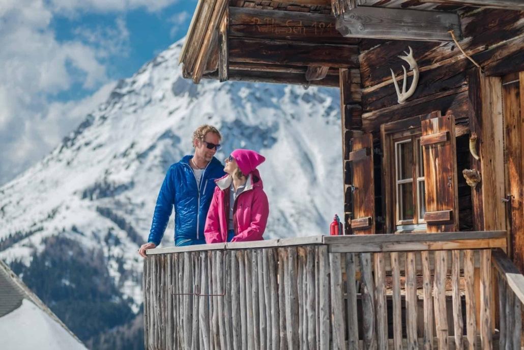 Wintererlebnis beim Winterwandern oder bei Schneeschuhtouren