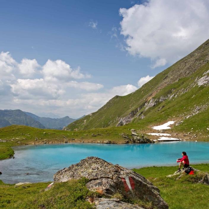 Traumhafte Ausblicke und klare Bergseen