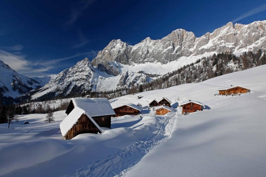 Geführte Schneeschuhtouren durch die herrliche Winterlandschaft in der Ramsauer Almenregion