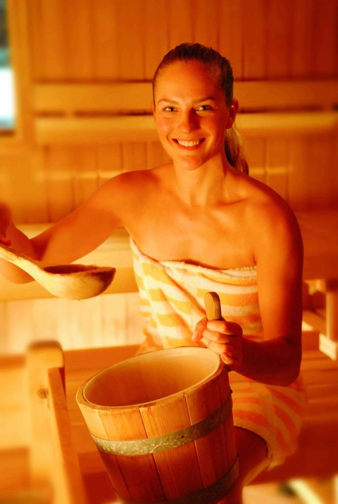 Sauna, Dampfbad und Aromakabine zum Relaxen-Hotel Matschner