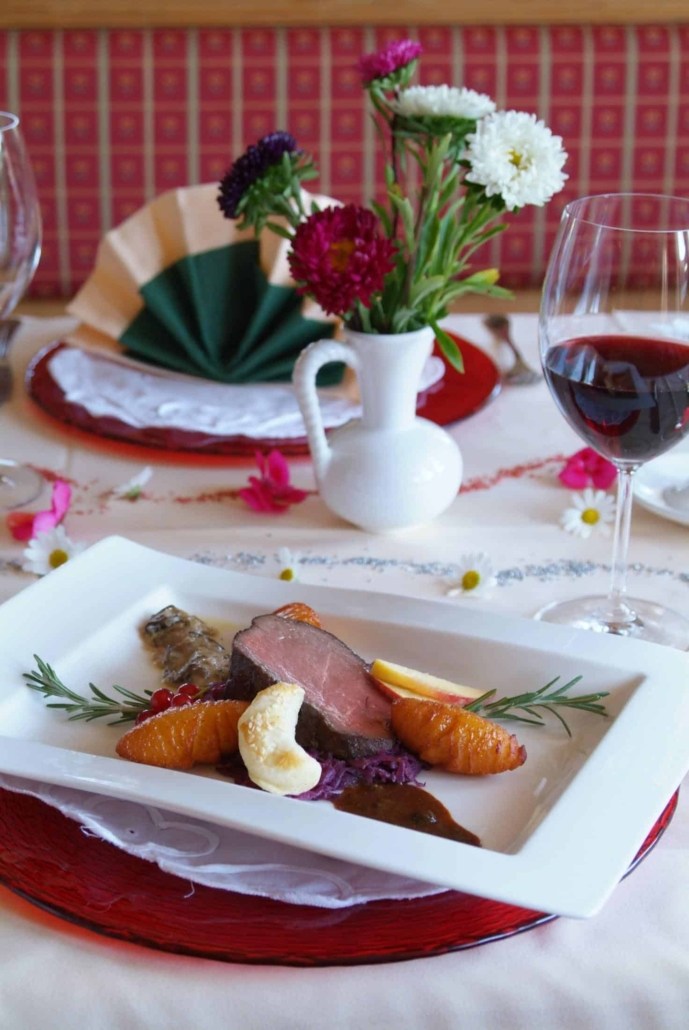 Culinary gourmet dishes-Hotel Matschner
