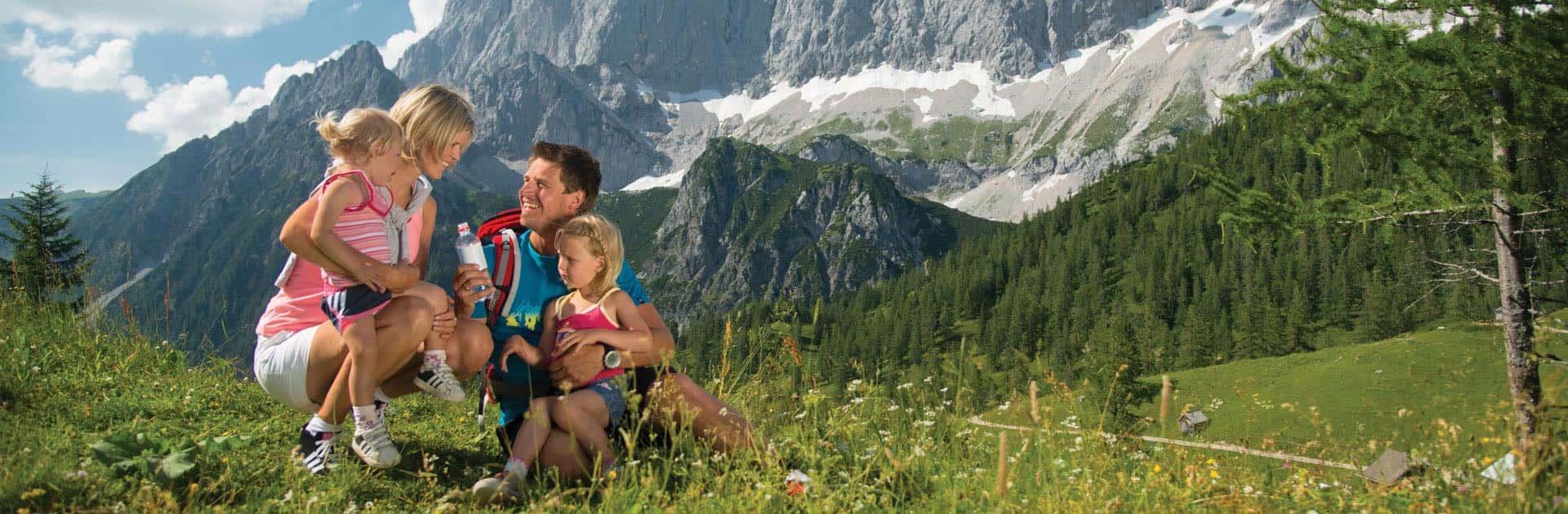 family holiday at Hotel Matschner