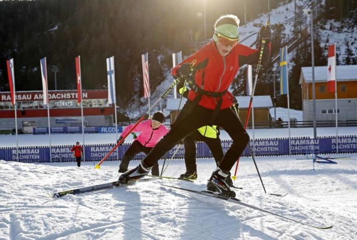 Children's cross-country skiing park in the Stadium Ramsau Ort