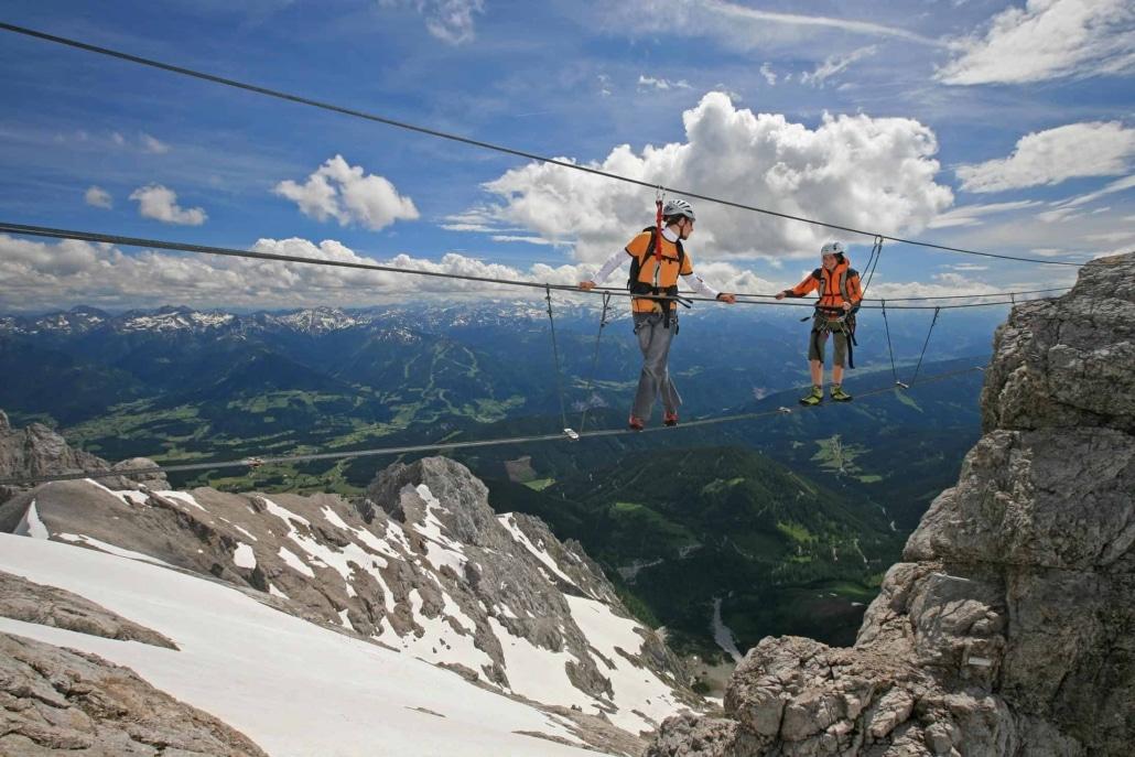 Klettersteige im Dachstein Gebiet