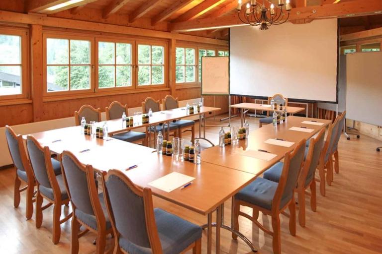 Pavillon-Seminarraum Hotel Matschner