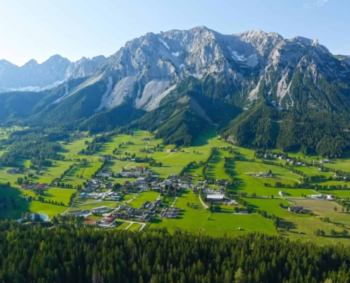 Ramsau the sunny holiday region