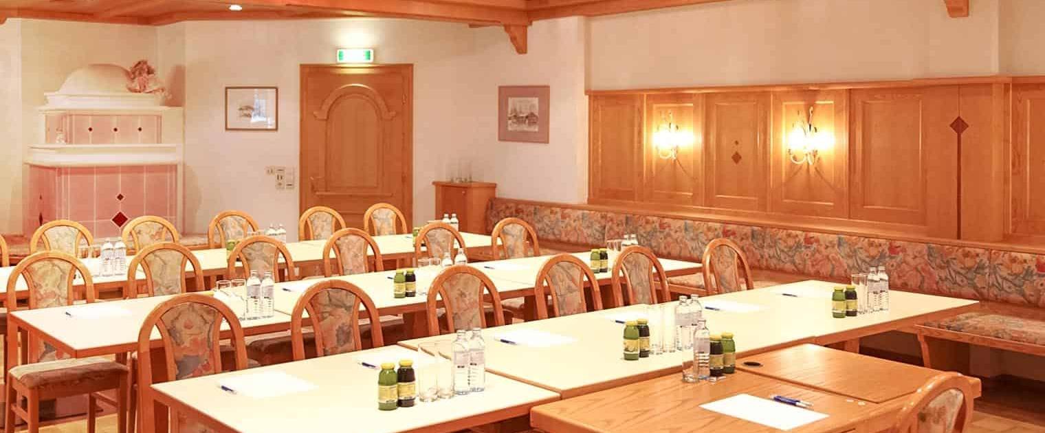 Seminarraum Ramsau Hotel Matschner