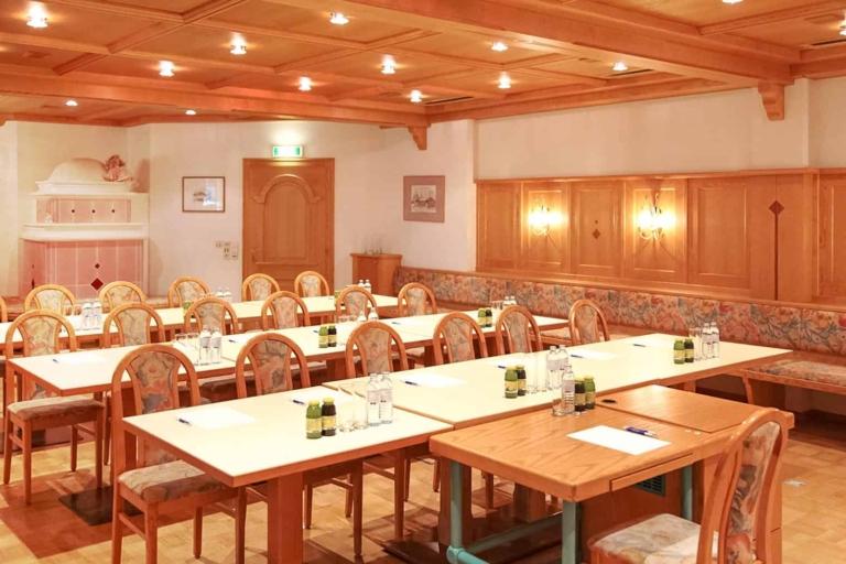 Seminar room Ramsau Hotel Matschner