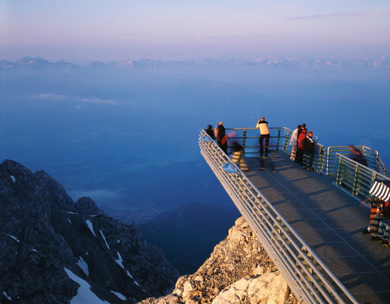 Der Dachstein - Dachstein Skywalk 2700 m
