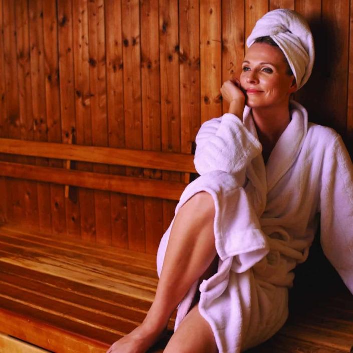 Verwöhnen und ausspannen im Sauna Bereich