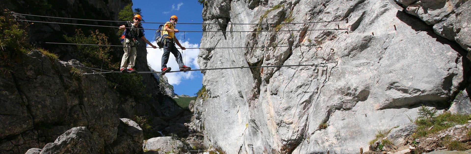 Klettersteig Hias im Silberkar