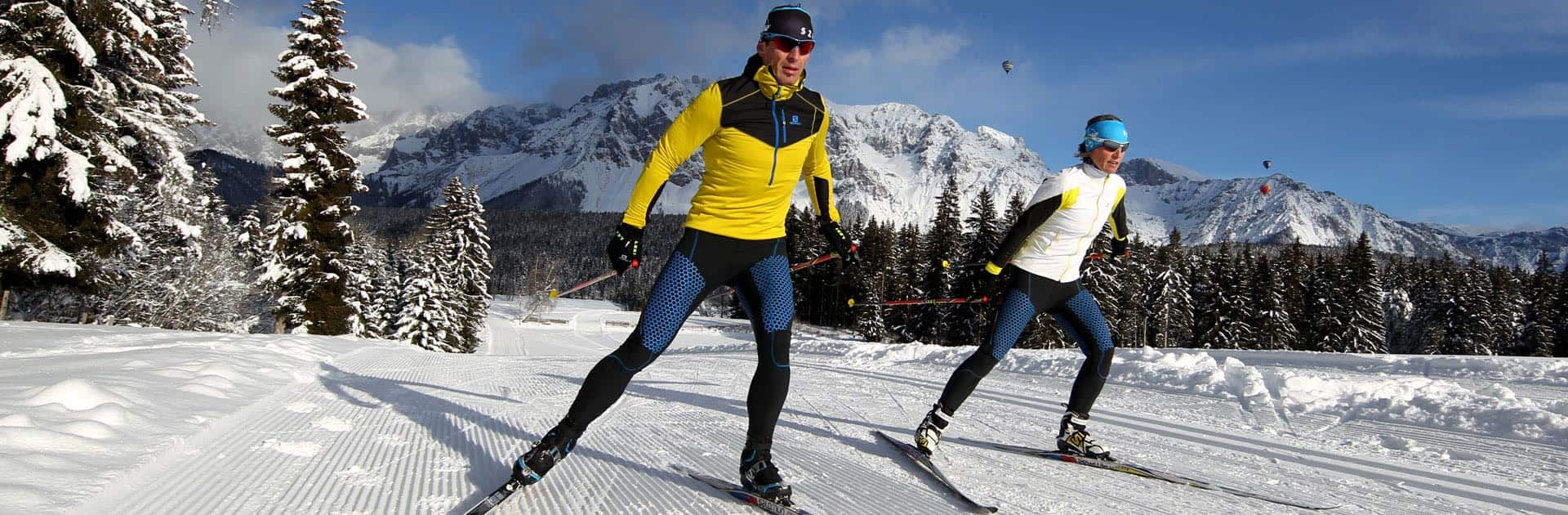 cross country skiing holiday at the Hotel Matschner-Ramsau am Dachstein