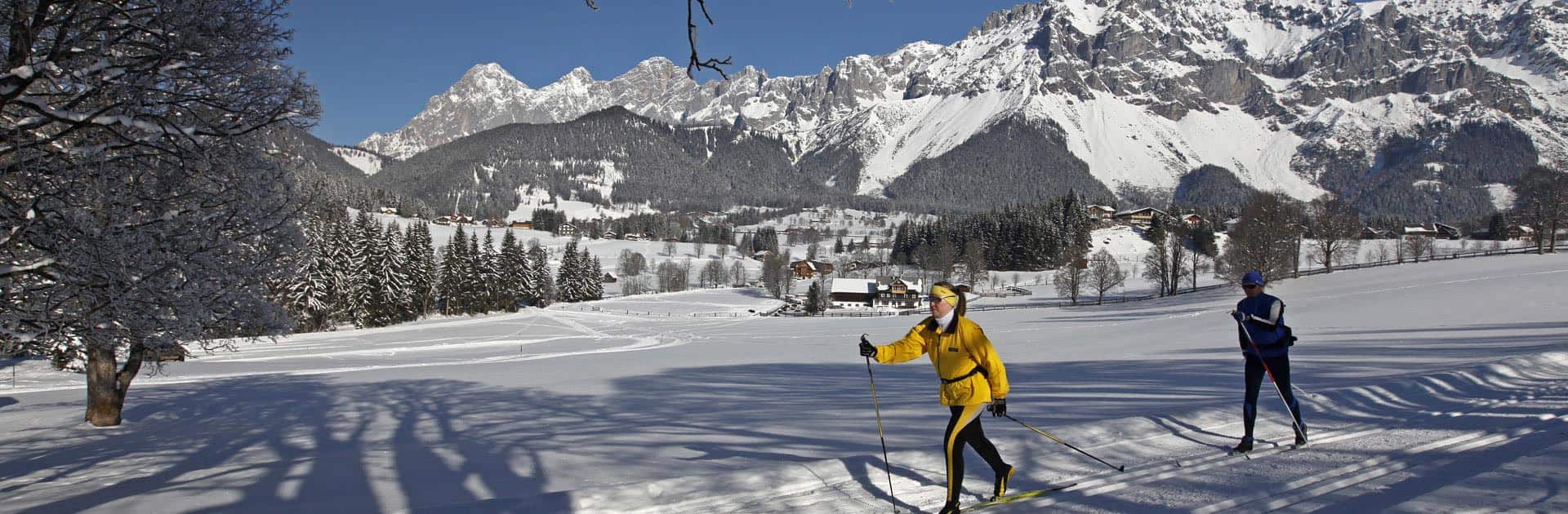 cross country paradise with 220km of groomed trails