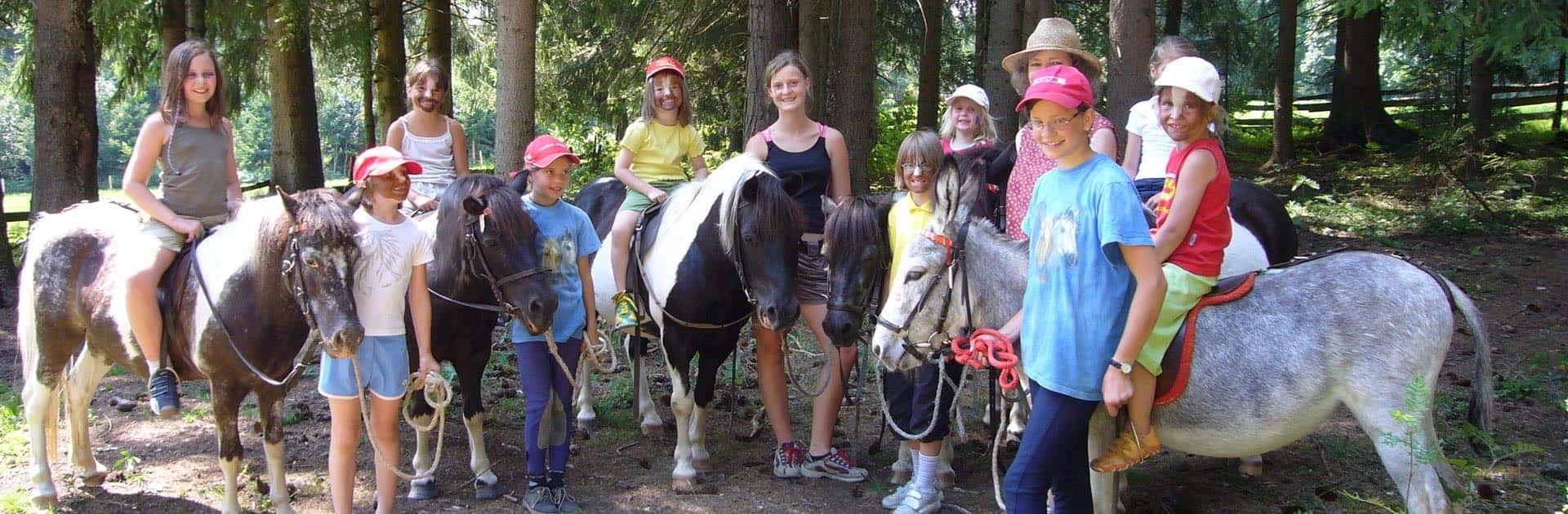 Kinderbetreuung mit Abenteuer Programm - Hotel Matschner
