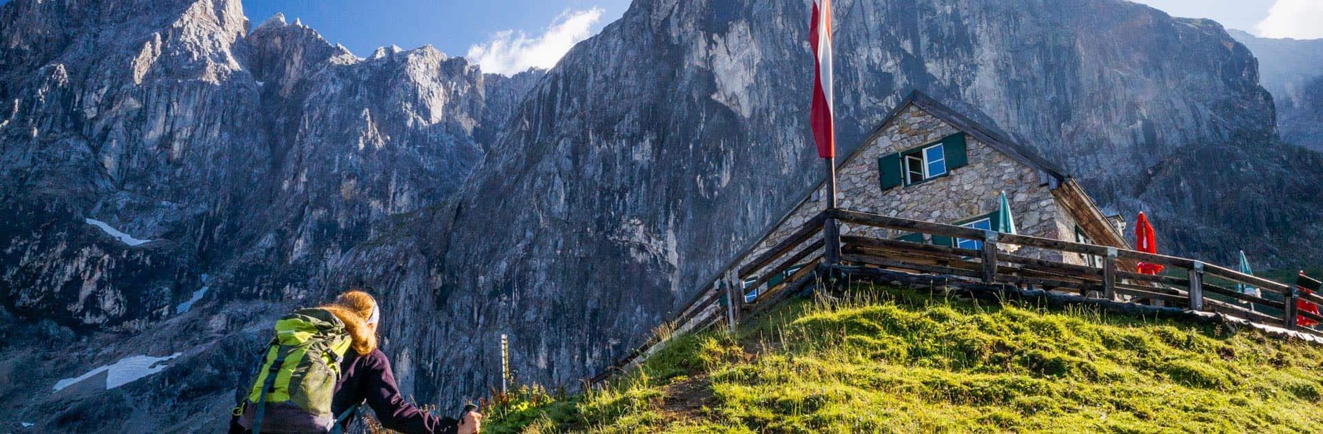 Wanderung zur Südwandhütte in Ramsau am Dachstein
