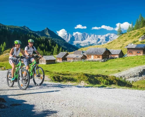 E-Bike and MTB vacation at Ramsau am Dachstein