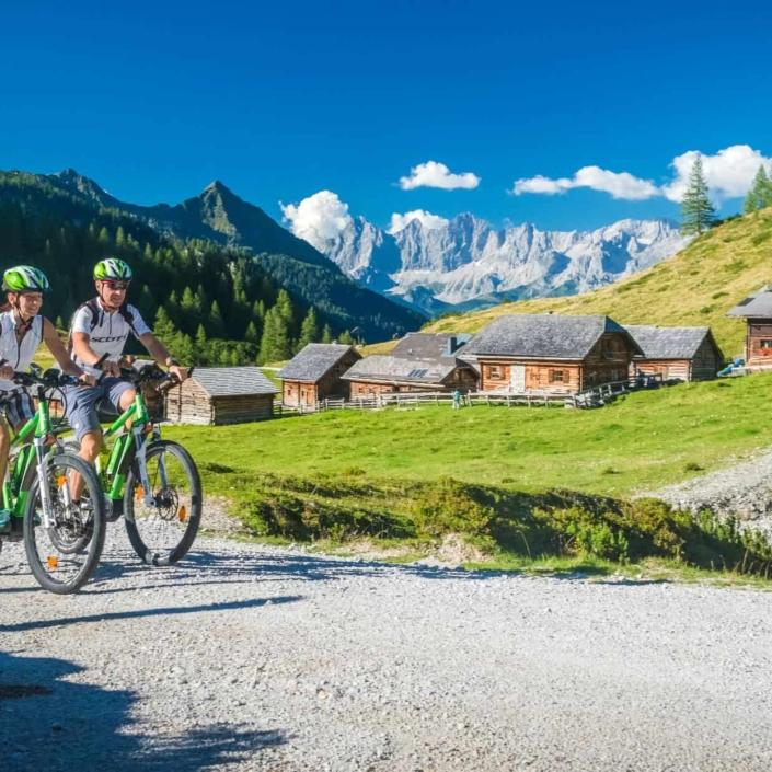 Geführte E-Bike und Mountainbike Touren - Hotel Matschner