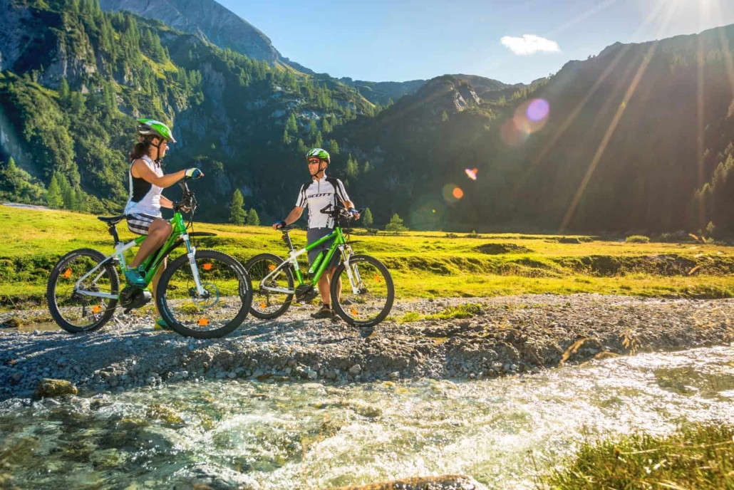 e-bike and mountain bike vacations in Hotel Matschner