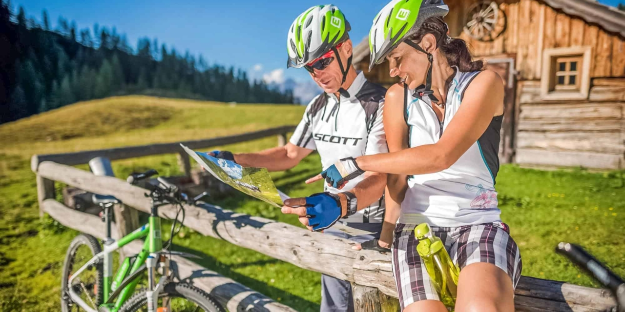 perfect signposted e-bike and mountain bike tours in Schladming-Dachstein