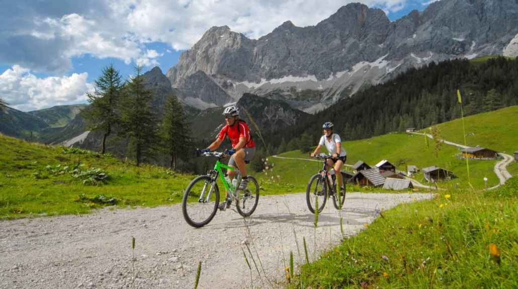 Ramsauer Almenrunde e-bike and mountain bike trail in Ramsau am Dachstein