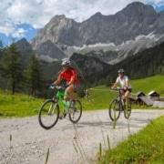 Ramsauer Almenrunde-E-Bike und Mountainbike Strecke in Ramsau am Dachstein