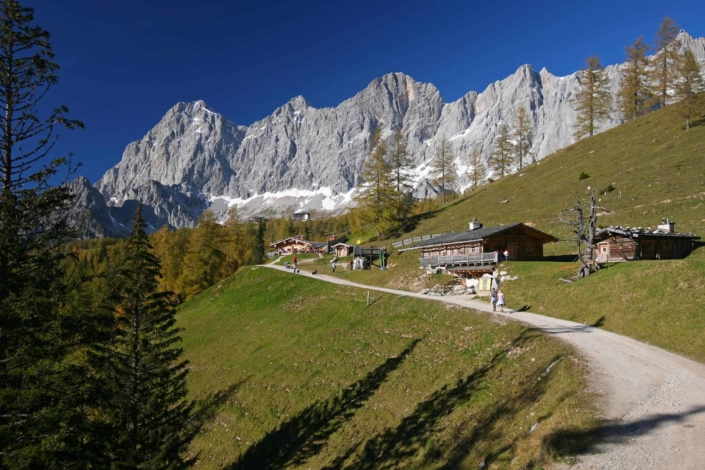 mountain bike panorama tour over the Alpine pastures