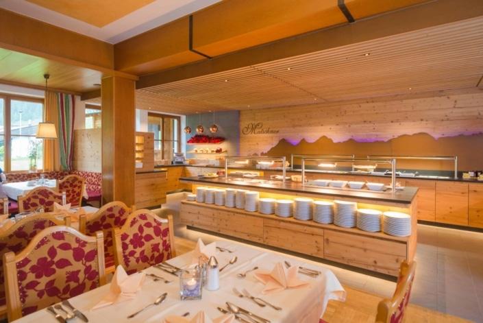 Dining room Hotel Matschner
