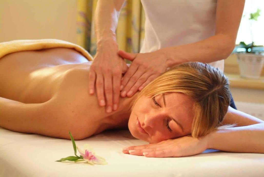 enjoy the wellness massage - Hotel Matschner