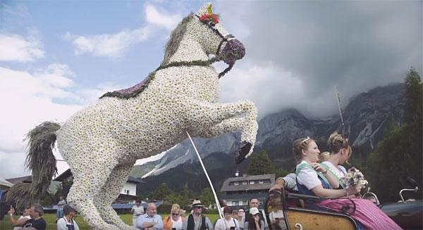 Ramsauer Fruehlingsfest der Pferde